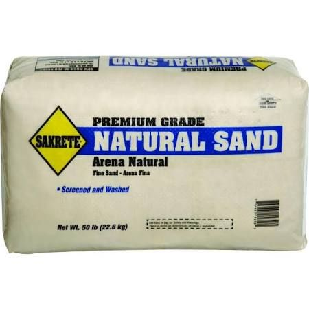 Washed Sakrete 50 Lb Natural Play Sand