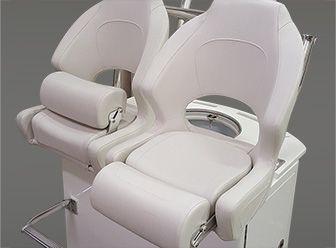 Flip Up Bolster Seat Fishing Boat Accessories Marine Upholstery Boat Restoration