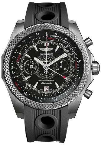 Breitling for Bentley Supersports Light Body Limited Edition Men\'s Black & Red Titanium Automatic Chronograph Watch