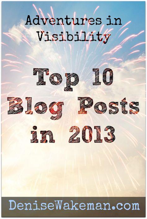 Top Ten Social Marketing Articles of 2013