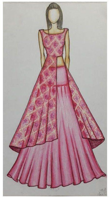 Fashion Design Drawings Indian 53 Ideas Fashion Design Drawings Indian Fa In 2021 Dress Design Sketches Fashion Design Dress Fashion Illustration Sketches Dresses