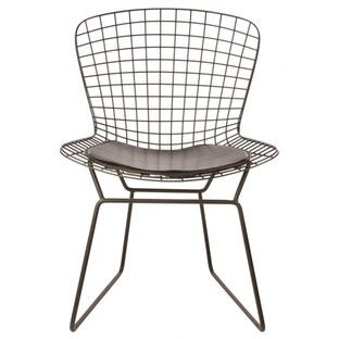 $149 Replica Harry Bertoia Side Chair   Powder Coated Frame