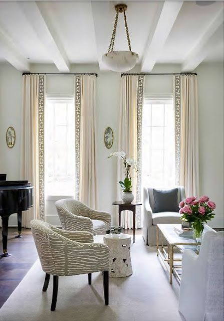 Before And After Living Room And Dining Room Window Treatments