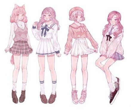 New Cats Reference Cute Ideas Drawing Clothes Character Design Girl Drawing Anime Clothes