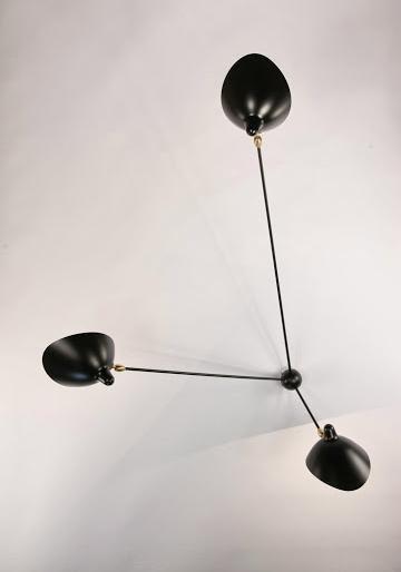 Serge Mouille Sconce Spider 3 Still Arms Lampe Murale Serge Mouille Tendance Deco
