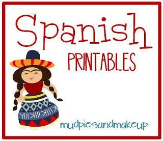 Awesome Preschool Spanish Printables
