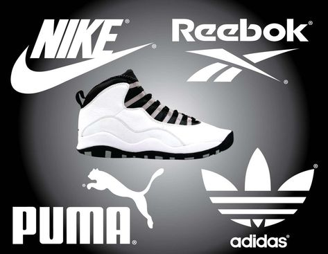 nike vs adidas vs puma vs reebok