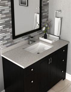Design House 563254 Msp Wave 25 Engineered Build Com Washbasin Design Bathroom Redesign Bathroom Cabinets Designs