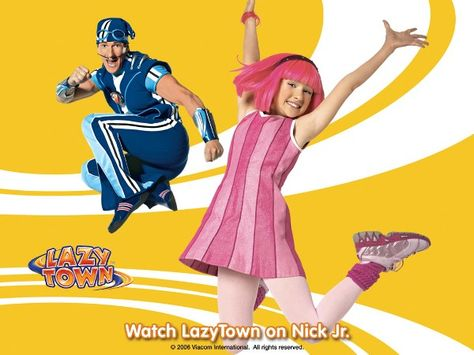 Movies Wallpaper : LazyTown