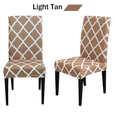 Stretch Chair Cover Beige Banquet Chair Covers Seat Covers For