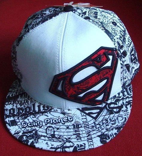 Superman Snapback cap. Photo by #LLCoolJoe