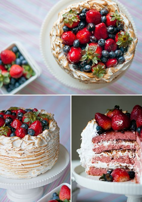 The Easter Basket – Berry Almond Crunch Cake by Hungry Rabbit NYC