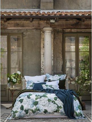 Blue Hydrangea Duvet Set Blue Hydrangea Duvet Cover Sets Home