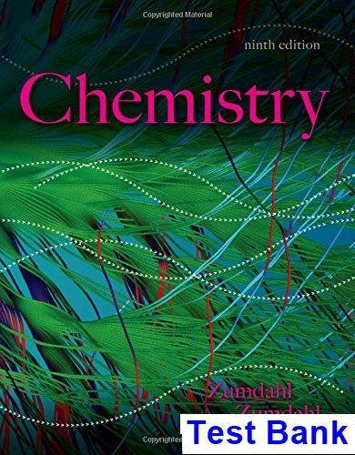 Chemistry 9th Edition Zumdahl Test Bank TestBank Download