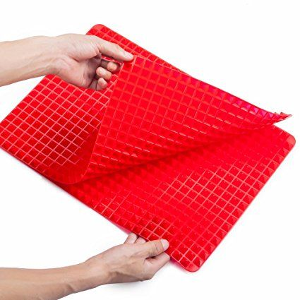 Boiletvoo Silicone Baking Mat Healthy Cooking Roasting Mats Non