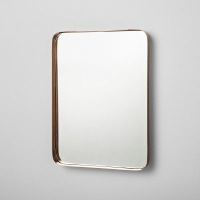 Hearth Hand Mirrored Tray Target Rectangle Mirror Hearth Hand With Magnolia Copper Tray