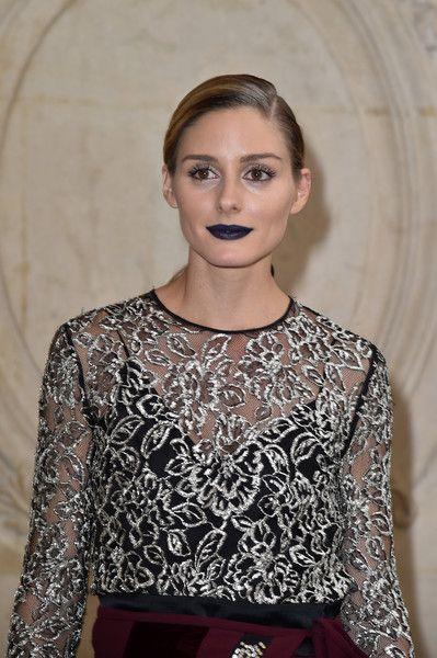 Olivia Palermo attends the Christian Dior show of the Paris Fashion Week Womenswear  Spring/Summer 2017  on September 30, 2016 in Paris, France.