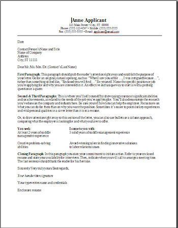 Cover Letter Template On Pages Cover Letter For Resume Cover