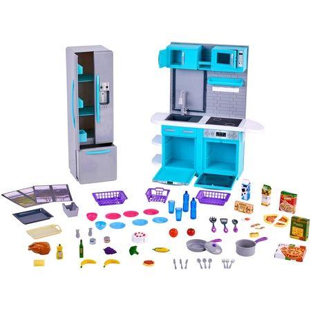 My Life As Kitchen Play Set 64 Pc Box Walmart Com 50 Little