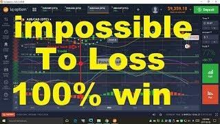 Iq Option Strategy 2019 100 Win Simple And Easy Strategy For You