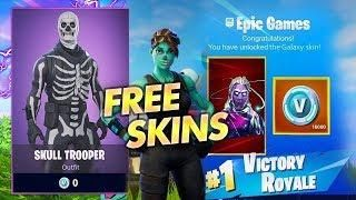 How to get Free Skins in Fortnite! Skull Trooper Free! Get ANY