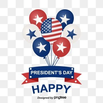 Presidential Day Decorates American Flag Festival Balloons National Flag Celebrating Balloon Png And Vector With Transparent Background For Free Download Balloons National Flag Day
