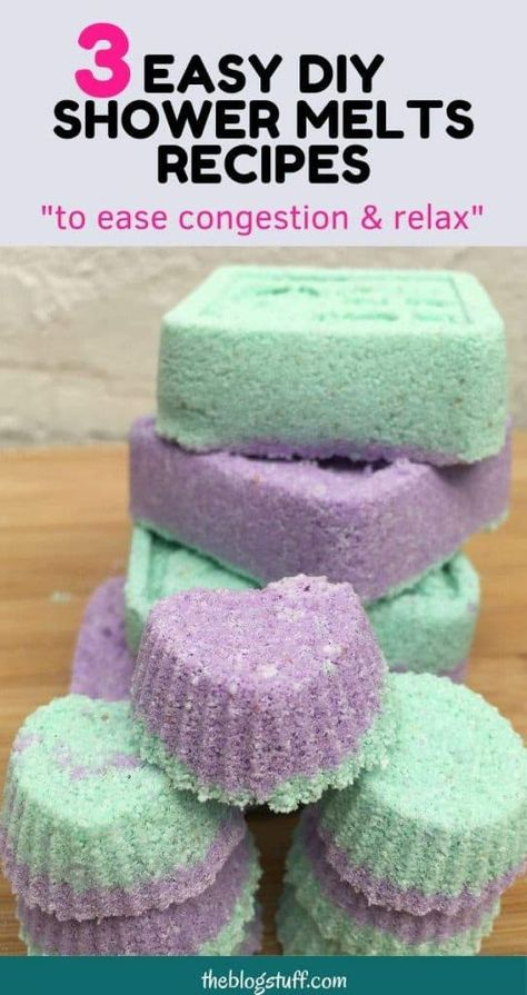 I have 3 easy diy shower melts recipes to share with you. These fizzies come ver… I have 3 easy diy shower melts recipes to share with you. These fizzies come very handy in. Diy Lotion, Lotion Bars, Diy Décoration, Easy Diy, Sugar Scrub Diy, Sugar Scrubs, Shower Steamers, Bath Melts, Diy Shower