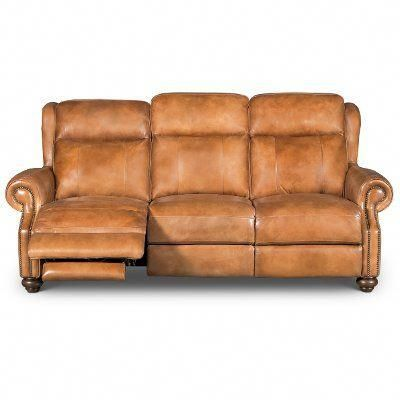Brown Leather Sofa Reclining, Brown Leather Reclining Sofa