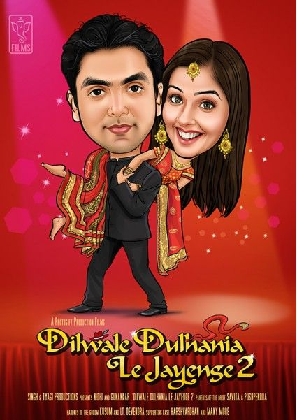 DDLJ Wedding Couple GM 348