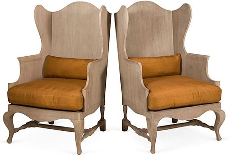 teak wingback chairs pair on furniture pinterest wingback chairs and teak