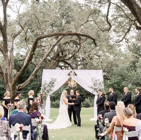 Bragg Mitchell Mansion Wedding In Mobile Alabama Lauren Christian Jennie Tewell Photography With Images Outdoor Wedding Ceremony Wedding Venue Inspiration Outdoor Wedding