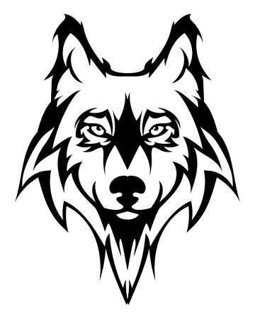 123rf Kreativ Stock Fotok Vektoros Grafikak Videok Es Zenek Millioi Amelyek Inspiraljak Es Passzolnak Kreati Tribal Wolf Tattoo Wolf Silhouette Dog Tattoos