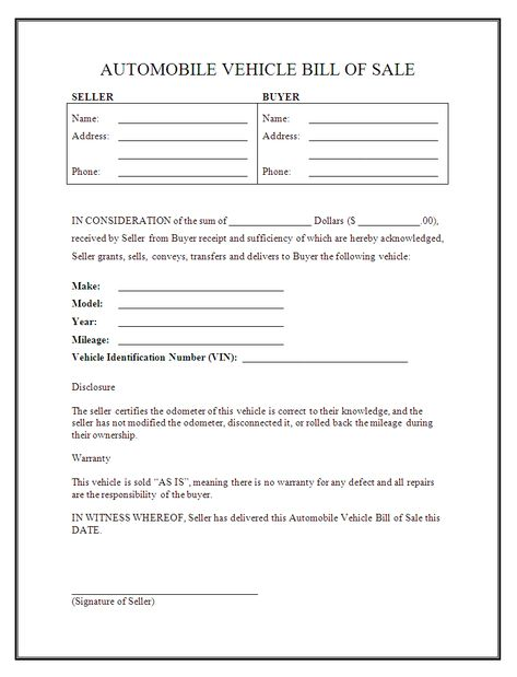 car buyer bill of rights refund form by redflagcharlotte - buyers - parking agreement template