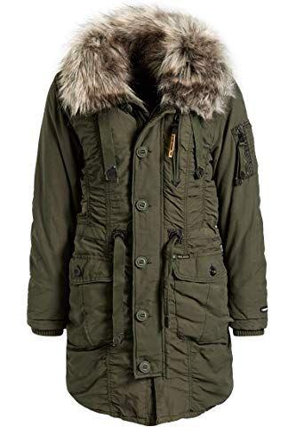 Khujo Damen Mantel Wintermantel Winterparka Baumwollparka Ym Mell Vegan Hergestellt 5 Farben Xs Xxl Amazon De B Winter Jackets Canada Goose Jackets Jackets