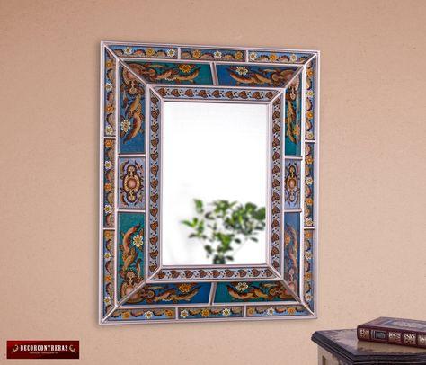 Wall Art Peruvian Handmade - Birds design - Wall Ornaments Set 3 ...