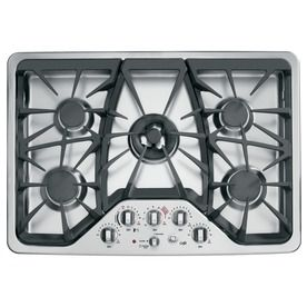 Cafe 5 Burner Gas Cooktop Stainless Common 30 In Actual 30 In Gas Cooktop Cooktop Gas Range Double Oven