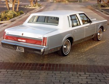 1985 Lincoln Town Car Cartier Designer Series 96 54d Lincoln Town Car Lincoln Motor Lincoln Motor Company