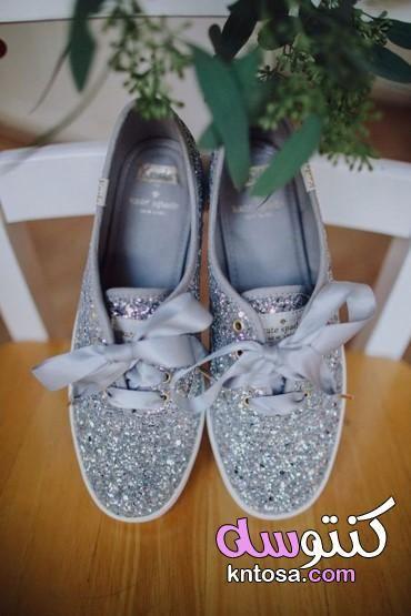 اجمل واحدث كوتشيات بنات اخر شياكة 2019 بالصور أشكال مختلفة لأحذية العروس كوتشيات افراح 2019 Kntosa Wedding Shoes Summer Wedding Shoes Beautiful Wedding Shoes