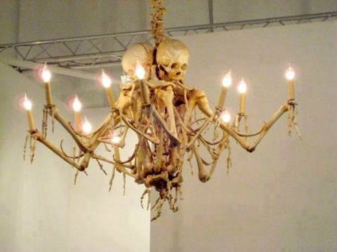 Creepy chandelier so scared pinterest creepy and chandeliers mozeypictures Choice Image