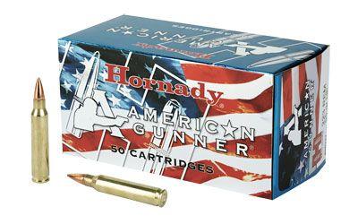 Hornady American Gunner 223 Rem 55 Grain Hollow Point 50 Round Box 80237 In 2021 Hollow Point Round Box Creedmoor