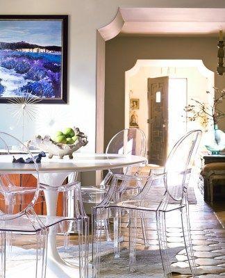 Acquista online 4 sedie Kartell Louis Ghost colore cristallo ...