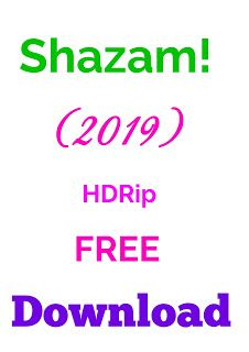 Shazam! (2019) Full HD Movie Free Download Hindi Dual Audio