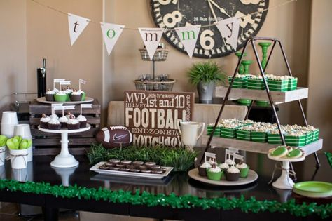Tommy's Football Birthday Party!... Take ideas for rugby