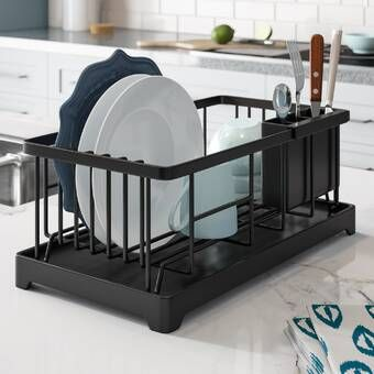 Countertop Dish Rack Dish Racks Easy Bathroom Updates Dish Drainers