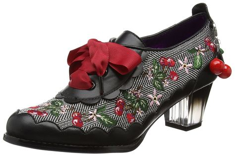 9a0a06dd8724 Poetic Licence by Irregular Choice Women s Cherry Fizz Brogues  Amazon.co.uk   Shoes   Bags