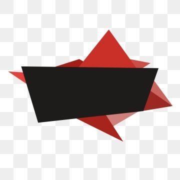 Texto De Barra De Titulo Irregular Vector De Material Banner Vector Banner Template Photoshop Facebook And Instagram Logo