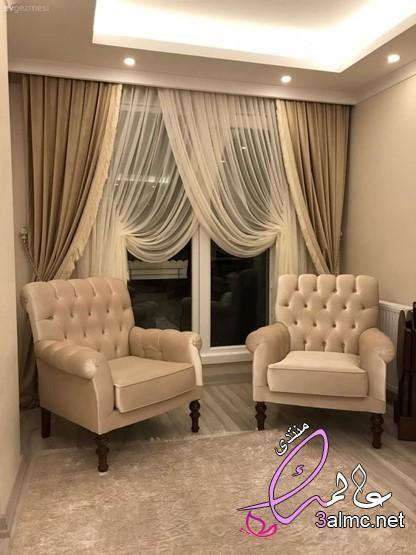 اجمل تصميمات الستائر ستآئر 2021 ديكورات ستائر الستائر المودرن كتالوج ستائر ستاءر حد Living Room Decor Curtains Living Room Furnishings Curtains Living Room