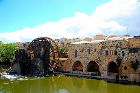 Ancient mills in Hama Syria