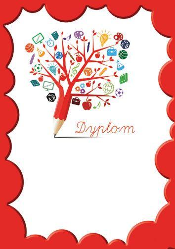 Znalezione Obrazy Dla Zapytania Dyplomy Szablony Diy And Crafts Crafts Cards