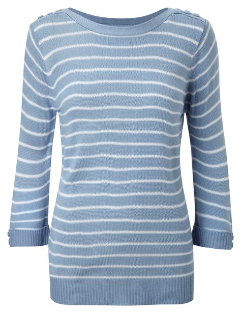 Damart Sailor Neck Sweater In Blue Www Damart Co Uk With Images Knitwear Men Sweaters Fashion